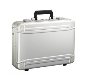 Geo Aluminum Attache - Large Laptop Case