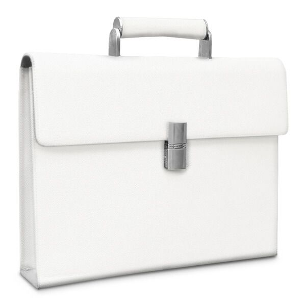 Briefcase French Classic, Titan-White - фото 2