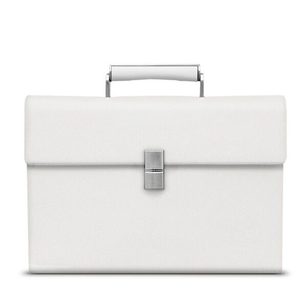 Briefcase French Classic, Titan-White - фото 1