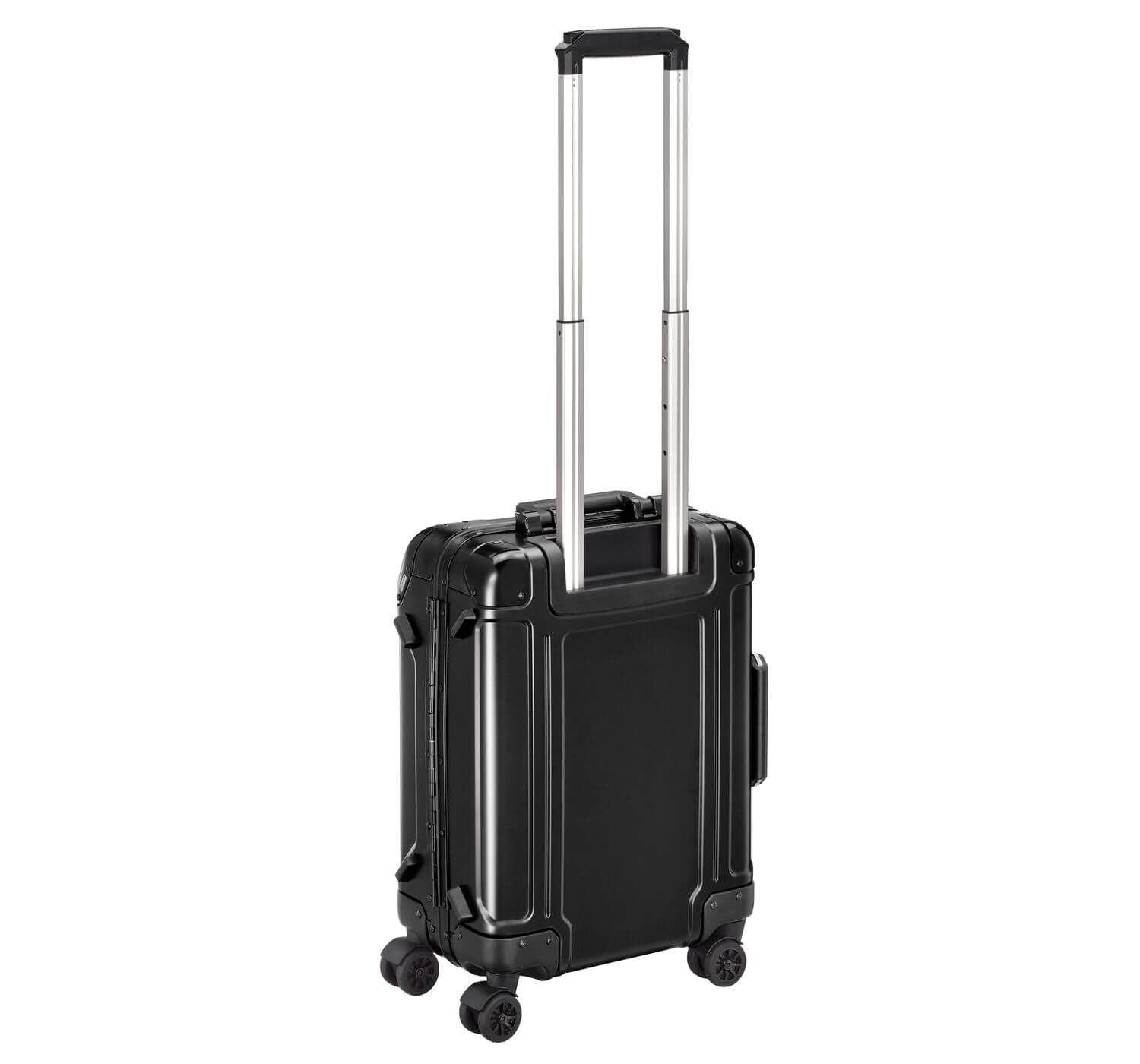 Geo Aluminum 2.0 - Carry-on 4-Wheel Spinner Luggage - фото 2
