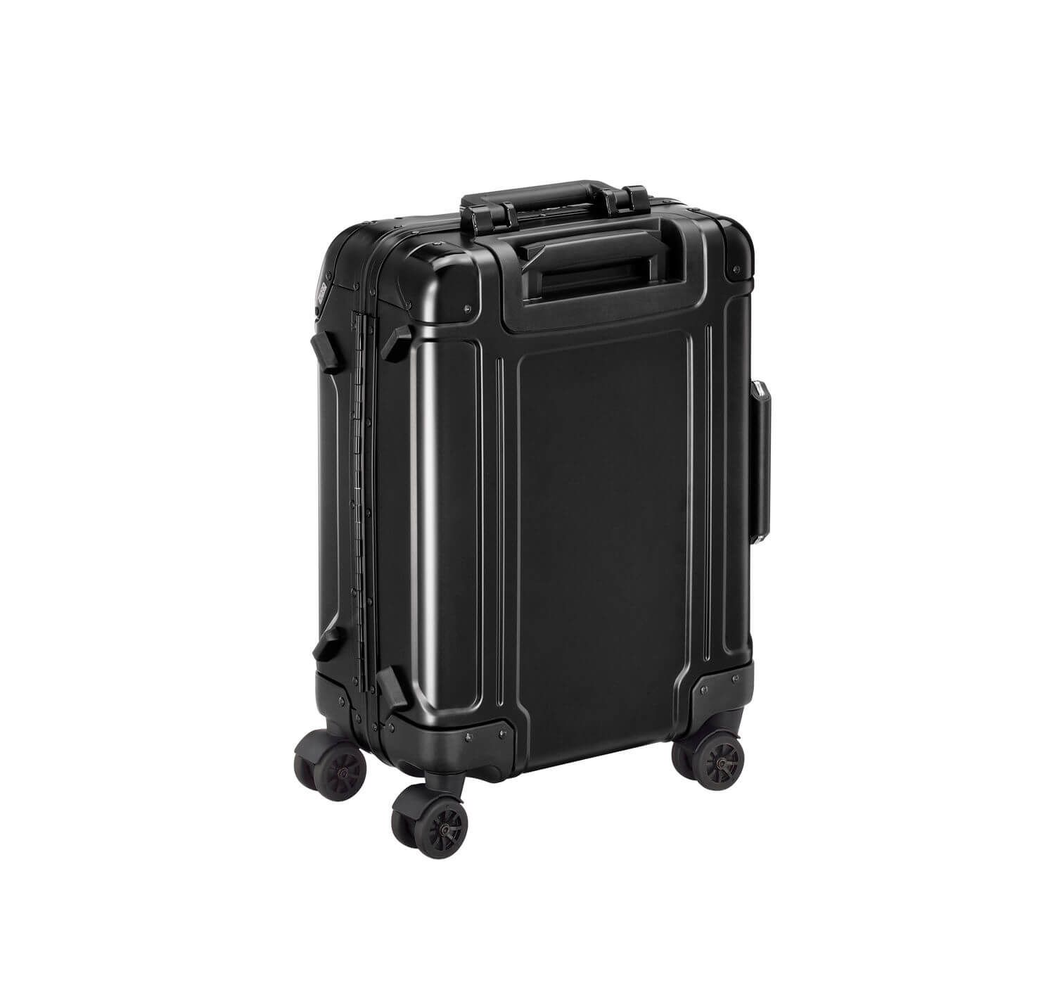 Geo Aluminum 2.0 - Carry-on 4-Wheel Spinner Luggage - фото 3